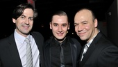 Actor and singer-songwriter Greg Naughton lends support to Golden Boy stars Seth Numrich and Danny Burstein.