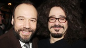 Danny Burstein nabs a photo op with his good friend, Counting Crows frontman Adam Duritz.