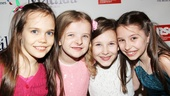 Matilda – Opening Night – Oona Laurence – Milly Shapiro – Sophia Gennusa – Bailey Ryon