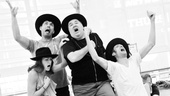 Kate Loprest, Kristoffer Cusick, Blake Hammond and Bryce Ryness ham it up as a quartet of Jewish relatives.