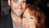 Colin Donnell and Maria Thayer star as the womanizing Berowne and his reluctant former flame Rosaline.