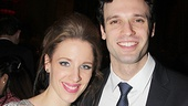 Jessie Mueller and Jake Epstein play Carole King and Gerry Goffin in Beautiful