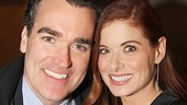 Smash co-stars Brian d'Arcy James and Debra Messing catch up.