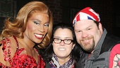 Rosie O'Donnell with Billy Porter & Daniel Stewart Sherman of Kinky Boots.