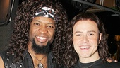 Ahman Green with Rock of Ages headliner Aaron C. Finley