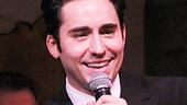 John Lloyd Young sings to his fans at Cafe Carlyle.