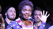 "Tony winner LaChanze and the cast of If/Then sing ""It's a Sign""."