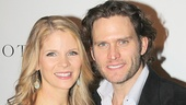 Things get steamy on stage between Kelli O'Hara and Steven Pasquale, but offstage, they're close pals!