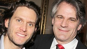 Director Bartlett Sher gives kudos to his leading man, Steven Pasquale.