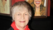 Oscar winner Estelle Parsons, originated the role of Alexandra in the new play's pre-Broadway engagement at Arena Stage in Washington D.C., poses with her Sardi's portrait!