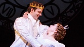 Joe Carroll as Prince Topher & Carly Rae Jepsen as Ella in Cinderella