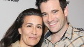 Violet composer Jeanine Tesori takes a picture-perfect snapshot with star Colin Donnell.