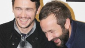 Of Mice and Men co- stars James Franco & Chris O'Dowd