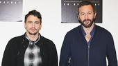 Headliners James Franco and Chris O'Dowd will play George and Lennie, respectively, in the new revival.