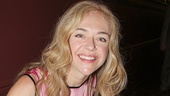 Pippin's Rachel Bay Jones, who plays Catherine in the hit revival, adds her autograph.