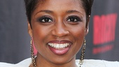Tony nominee Montego Glover looks glamorous on opening night.
