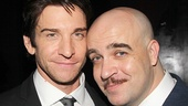 Rocky co-stars Andy Karl and Eric Anderson take a snapshot.