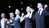 Bravo! Chicago stars R. Lowe, Elvis Stojko, Anne Horak, Amra-Faye Wright, Jason Patrick Sands and Roz Ryan take a bow.