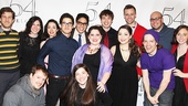 Twisted at 54 Below - Darren Criss with company