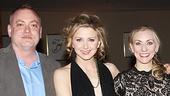 Playwright David Grimm, stars Nina Arianda and Tina Benko, director Kate Whoriskey & MTC artistic producer Mandy Greenfield.