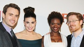 If/Then - Opening - OP - 3/14 - James Snyder - Idina Menzel - LaChanze - Anthony Rapp