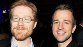 Anthony Rapp and Curtis Holbrook enjoy the post-show soiree.