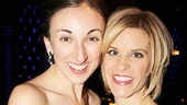 If/Then star Jenn Colella and her girlfriend Siobhan enjoy the starry party.
