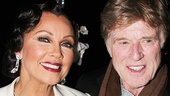 Vanessa Williams strikes a pose with Robert Redford.