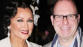 Vanessa Williams and After Midnight producer Scott Sanders take a post-show photo.