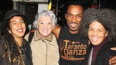 Tyne Daly took the whole family to see After Midnight! The Tony winner and her daughters Alyxandra and Kathryne hang out backstage with After Midnight's Desmond Richardson.