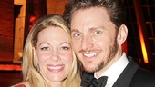 Marin Mazzie is proud to have her husband, actor Jason Danieley, by her side on opening night.