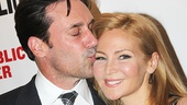 The Library - Opening - OP - 4/14 - Jon Hamm - Jennifer Westfeld