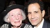 Anne Kaufman Schneider with Tony Shalhoub.