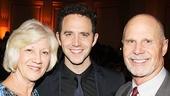 Santino Fontana with his proud parents.