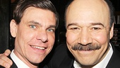 Aaron Krohn and Danny Burstein.
