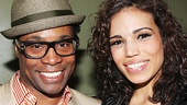 Kinky Boots star Billy Porter and new Pippin headliner Ciara Renee.