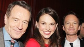 2014 Tony nominees Bryan Cranston, Sutton Foster and Neil Patrick Harris.