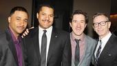 Drama Desk Awards - Op - 5/14 - Jason Dirden - Brandon J. Dirden - Carson Elrod - Arnie Burton