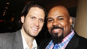 The Bridges of Madison County's Steven Pasquale with Tony-nominated Aladdin star James Monroe Iglehart.