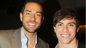 First Date alum Zachary Levi and Bridges player Derek Klena.