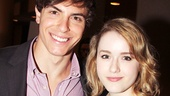 Derek Klena and Caitlin Kinnunen play brother and sister in The Bridges of Madison County.