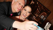 Gala hosts Harvey Fierstein and Debra Messing take an adorable double selfie.