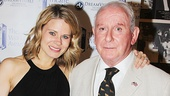 The Glass Menagerie's Celia Keenan-Bolger with casting director Lionel Larner. Congratulations to the winners!