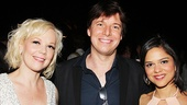 Emily Bergl catches up with Joshua Bell and his girlfriend Larisa Martinez.