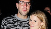 The Glass Menagerie co-stars Zachary Quinto and Celia Keenan-Bolger catch up.
