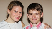 Broadway sister and brother Celia Keenan-Bolger and Andrew Keenan-Bolger.
