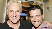 Newsies star  John Dossett with Violet's Colin Donnell.