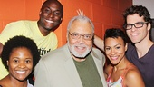 Beautiful - Backstage - OP - 7/14 - James Earl Jones - Gabrielle Reid - Douglas Lyons - Carly Hughes - Josh Davis