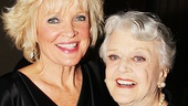 Blithe Spirit vets Christine Ebersole and Angela Lansbury catch up—Lansbury will reprise her role on tour in December!