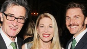 Actor and director Roger Rees with Tony nominee Marin Mazzie and her husband, actor Jason Danieley.